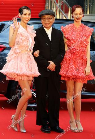Kiko Mizuhara, Haruomi Hosono and Yuka Mizuhara