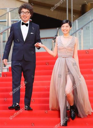 Koichiro Miki and Yui Sakuma