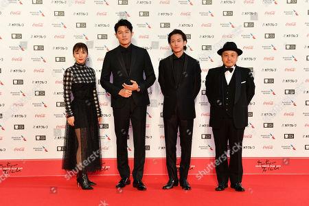 Editorial image of 32nd Tokyo International Film Festival Opening Ceremony - 28 Oct 2019