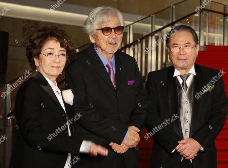 Chieko Baisho, Yoji Yamada and Gin Maeda