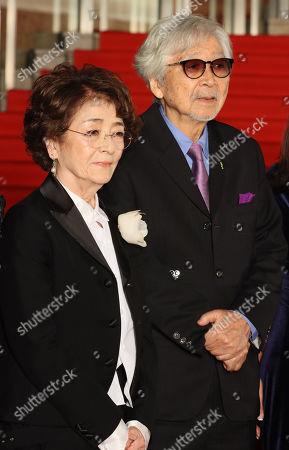 Chieko Baisho and Yoji Yamada