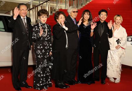 Gin Maeda, Ruriko Asaoka, Chieko Baisho, Yoji Yamada, Kumiko Goto, Hidetaka Yoshioka and Mari Natsuki
