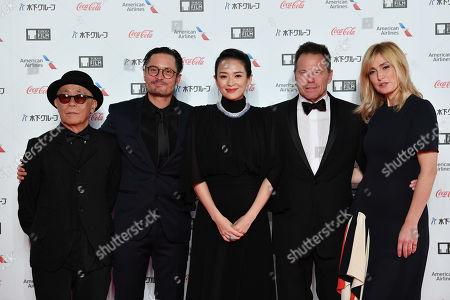 Ryuichi Hiroki, Michael Noer, Zhang Ziyi, Bill Gerber and Julie Gayet