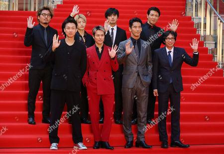 Hiroki Inoue, Daishi Matsunaga, Ryuji Imaichi, Isao Yukisada, Naoki Kobayashi, Reo Sano, Hiroki Horanai, Tetsuya Bessho