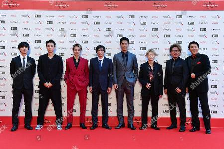 Stock Image of Hiroki Inoue, Daishi Matsunaga, Ryuji Imaichi, Isao Yukisada, Naoki Kobayashi, Reo Sano, Hiroki Horanai, Tetsuya Bessho