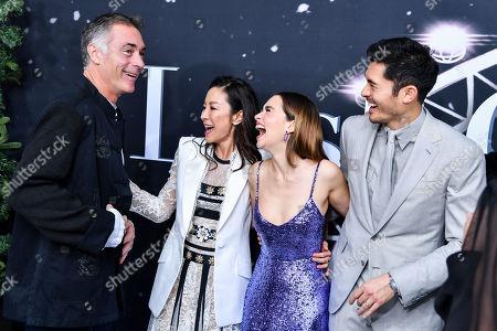 Greg Wise, Michelle Yeoh, Emilia Clarke, Henry Golding