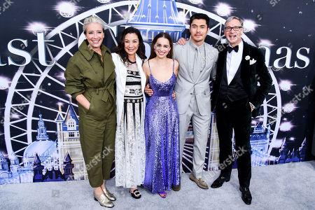 Emma Thompson, Michelle Yeoh, Emilia Clarke, Henry Golding, Paul Feig