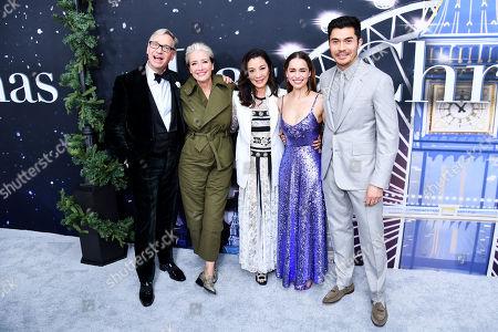 Paul Feig, Emma Thompson, Michelle Yeoh, Emilia Clarke, Henry Golding