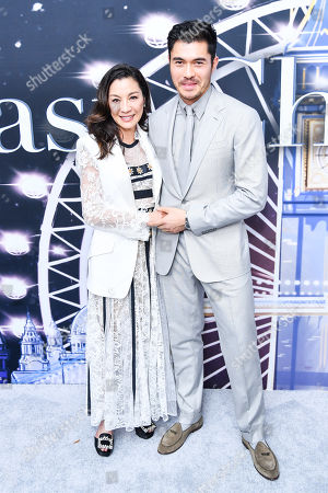 Henry Golding, Michelle Yeoh