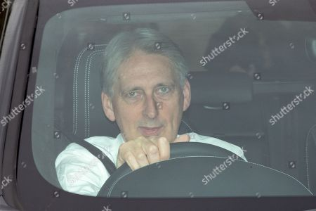 Former Chancellor Philip Hammond arriving at the Houses of Parliament