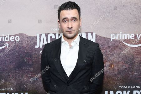 Editorial image of Tom Clancy's 'Jack Ryan' season two TV show premiere, Arrivals, New York, USA - 29 Oct 2019