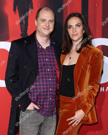 Stock Image of Mike Flanagan and Kate Siegel