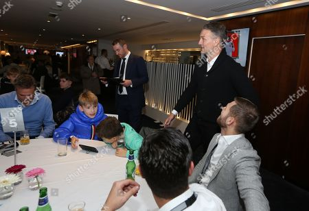 Clint Hill meet and greet in C Club - Commercial & Marketing