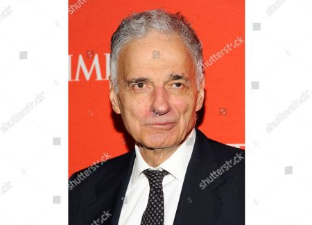 "Ralph Nader at the TIME 100 gala, celebrating the 100 most influential people in the world, in New York. Nader's latest book, ""Fake President,"" co-written by fellow author-activist Mark Green, will be released on Dec. 3, Skyhorse Publishing announced Tuesday"