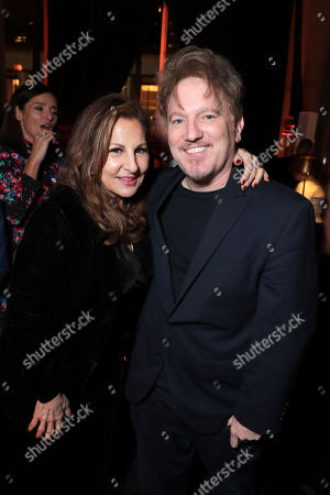 "NEW YORK, NEW YORK - OCTOBER 28: Kathy Najimy and Dan Finnerty attend Apple's global premiere of ""The Morning Show"" at Josie Robertson Plaza and David Geffen Hall, Lincoln Center for the Performing Arts, New York City on October 28, 2019. ""The Morning Show"" debuts November 1 on Apple TV+, available on the Apple TV app."