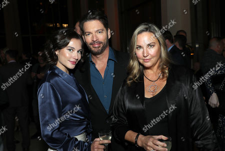 Sarah Kate Connick, Harry Connick Jr. and Jill Goodacre