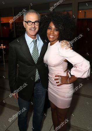 Stock Photo of David Frankel, Writer, and Karen Pittman