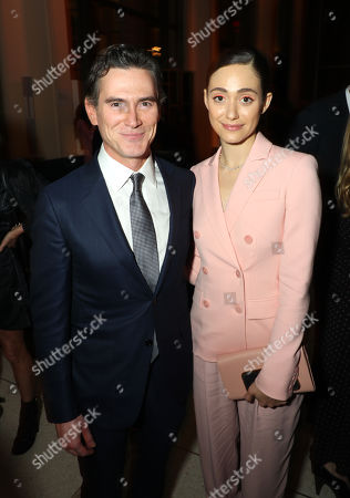 Stock Photo of Billy Crudup and Emmy Rossum