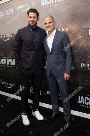 John Krasinski and Michael Kelly