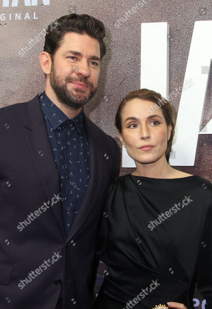 John Krasinski and Noomi Rapace