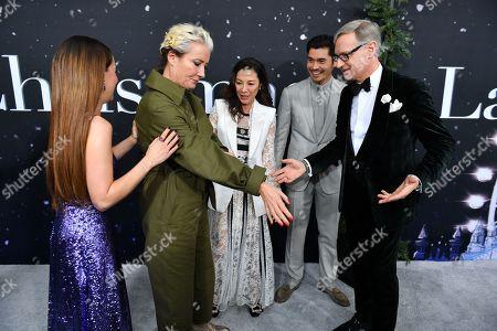 Emilia Clarke, Emma Thompson, Michelle Yeoh, Henry Golding and Paul Feig