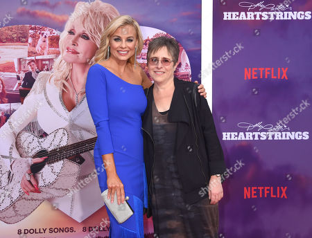 Jessica Collins and Lisa Melamed