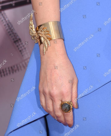 Kimberly Williams-Paisley, bracelet and ring detail