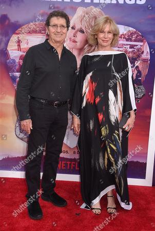 Mac Davis and wife Lise Kristen Gerard