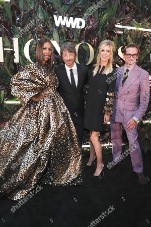 Iman, Pierpaolo Piccioli, Nicky Hilton Rothschild and Hamish Bowles