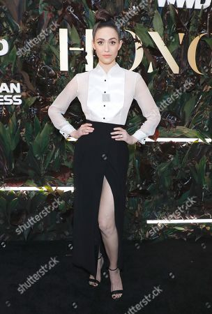 Editorial image of 4th Annual WWD Honors, Arrivals, New York, USA - 29 Oct 2019