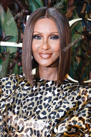 Stock Image of Iman