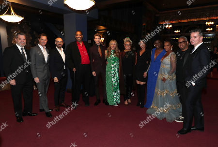 Josh McLaughlin, President of Production for Focus Features, Jason Cassidy, President of Marketing at Focus Features, Peter Kujawski, Chairman of Focus Features, Gregory Allen Howard, Writer/Producer, Joe Alwyn, Daniela Taplin Lundberg, Producer, Kasi Lemmons, Director/Writer, Debra Martin Chase, Producer, Angie Wells, Head of Makeup, Vanessa Bell Calloway, Terence Blanchard, Composer, Robert Walak, President of Focus Features