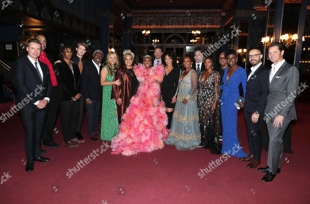 Robert Walak, President of Focus Features, Gregory Allen Howard, Writer/Producer, Henry Hunter Hall, Joe Alwyn, Vondie Curtis-Hall, Daniela Taplin Lundberg, Producer, Kasi Lemmons, Director/Writer, Cynthia Erivo, Nick Basta, Debra Martin Chase, Producer, Vanessa Bell Calloway, Josh McLaughlin, President of Production for Focus Features, Janelle Monae, Terence Blanchard, Composer, Angie Wells, Head of Makeup, Peter Kujawski, Chairman of Focus Features, Jason Cassidy, President of Marketing at Focus Features