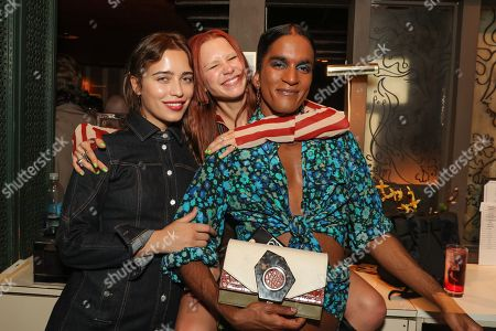 Lera Pentelute, Courtney Trop and Richie Shazam
