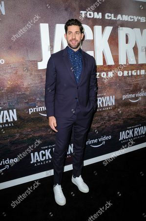 "John Krasinski attends the premiere of Amazon Prime's ""Tom Clancy's Jack Ryan"" season two at Metrograph, in New York"