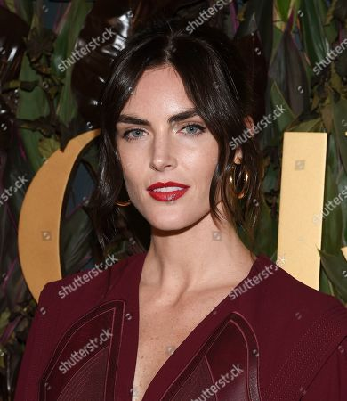 Hilary Rhoda attends the fourth annual Women's Wear Daily WWD Honors at the InterContinental Barclay, in New York