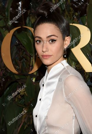 Emmy Rossum attends the fourth annual Women's Wear Daily WWD Honors at the InterContinental Barclay, in New York