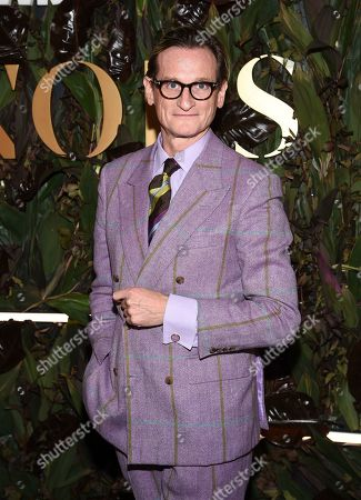 Fashion editor Hamish Bowles attends the fourth annual Women's Wear Daily WWD Honors at the InterContinental Barclay, in New York