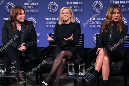 Kerry Ehrin (Exec. Producers), Reese Witherspoon and Jennifer Aniston