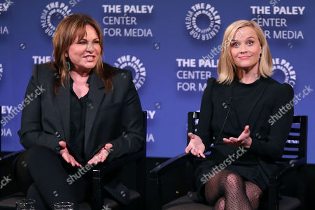 Kerry Ehrin (Exec. Producer) and Reese Witherspoon