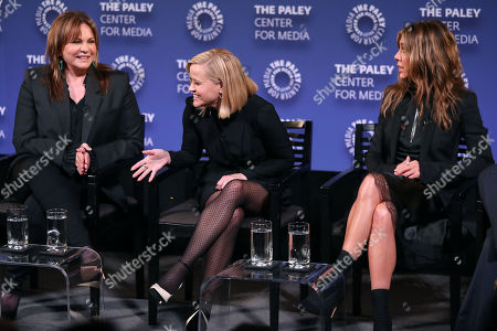 Kerry Ehrin (Exec. Producer), Reese Witherspoon and Jennifer Aniston