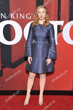 """Stock Photo of Molly Quinn attends the LA premiere of """"Doctor Sleep"""" at the Regency Theatre Westwood, in Los Angeles"""
