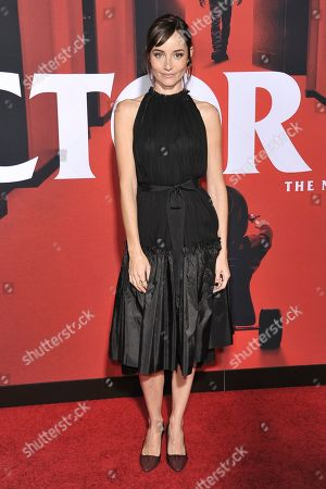 "Jocelin Donahue attends the LA premiere of ""Doctor Sleep"" at the Regency Theatre Westwood, in Los Angeles"