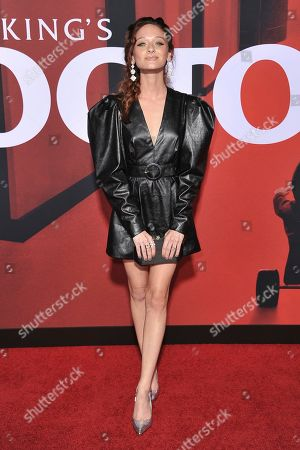 """Chelsea Talmadge attends the LA premiere of """"Doctor Sleep"""" at the Regency Theatre Westwood, in Los Angeles"""