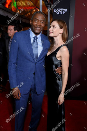 Carl Lumbly and Rebecca Ferguson
