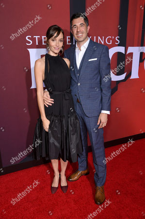 Jocelin Donahue and Greg Santos