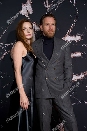 Rebecca Ferguson and Ewan McGregor