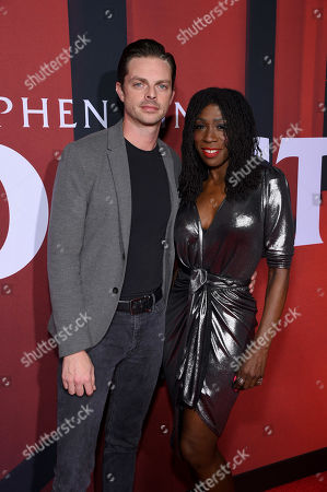 Brian Fortuna and Heather Small