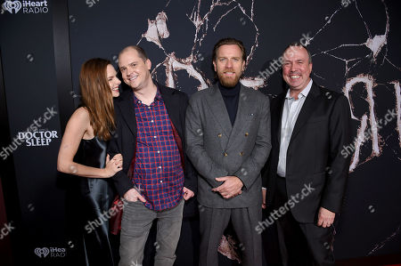 Rebecca Ferguson, Mike Flanagan, Ewan McGregor and Trevor Macy