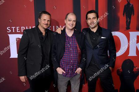 Andy Grush, Mike Flanagan and Taylor Newton Stewart